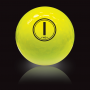Vision UV Yellow golf ball
